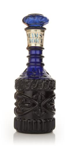 Jim Beam Blue Decanter 1960s Whiskey Master Of Malt