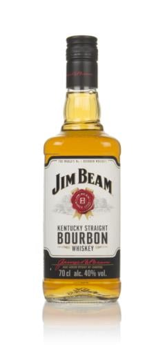 Jim Beam White Label Bourbon Whiskey 70cl