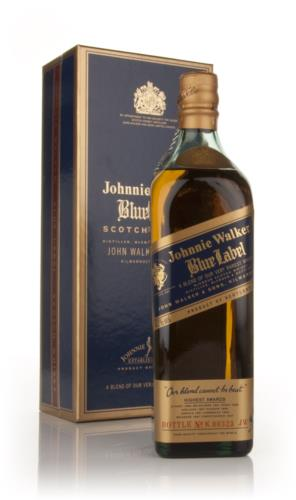Johnnie Walker Blue Label (Old Bottle)