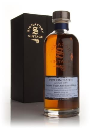 Kinclaith 1969 35 Year Old Signatory Single Malt Scotch Whisky