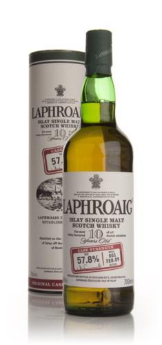 Laphroaig 10 Year Old Cask Strength Batch 001 Single Malt Scotch Whisky