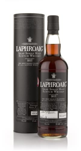 Laphroaig 27 Year Old Oloroso Cask (2007 Release)