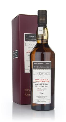 Linkwood 1996 Managers Choice Single Malt Scotch Whisky