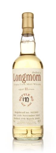 Longmorn 11 Year Old 1997 - (Bladnoch)