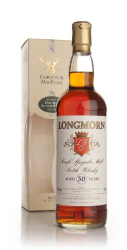 Longmorn 30 Year Old Gordon & MacPhail Single Malt Scotch Whisky