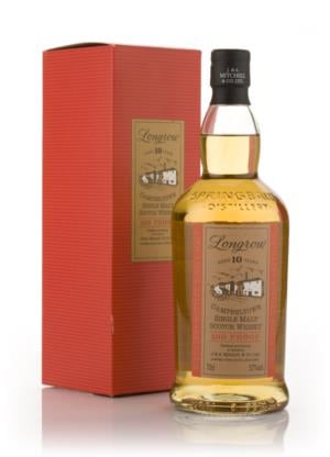 Longrow 10 Year Old 100 Proof Single Malt Scotch Whisky