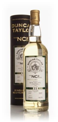Macallan 11 Year Old 1997 - NC2 (Duncan Taylor)