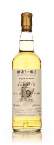 Tomatin 19 Year Old Master of Malt  (Single Cask) Single Malt Scotch Whisky