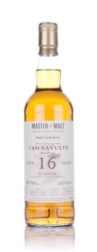 Tamnavulin 16 Year Old Master of Malt  (Single Cask) Single Malt Scotch Whisky