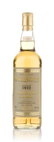 Millburn 1972 Gordon & MacPhail Single Malt Scotch Whisky