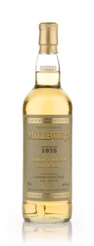Millburn 1978 Gordon & MacPhail Single Malt Scotch Whisky
