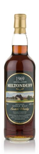 Miltonduff 1969 Gordon & Macphail Malt Scotch Whisky