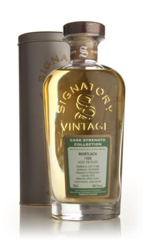 Mortlach 19 Year Old 1988 - Cask Strength Collection (Signatory)