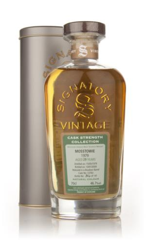Mosstowie 29 Year Old 1979 - Cask Strength Collection (Signatory)