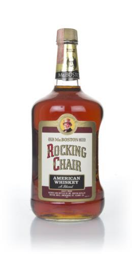 Mr Boston Rocking Chair 1 75l 1981 Whiskey Master