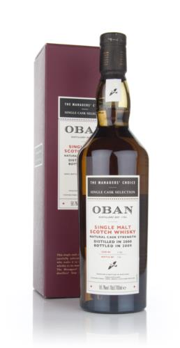 Oban 2000 Managers Choice Single Malt Scotch Whisky