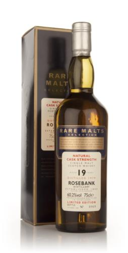 Rosebank 19 Year Old 1979 - Rare Malts 75cl