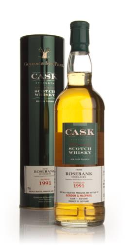 Rosebank 1991 - Cask Strength (Gordon and MacPhail)