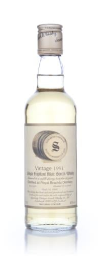 Royal Brackla 1991 35cl (Signatory)