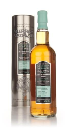 Allt-a-Bhainne 1996  12 Year Old  Murray McDavid Single Malt Scotch Whisky