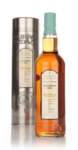 Bowmore 2002  7 Year Old Murray McDavid Single Malt Scotch Whisky