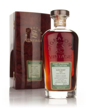 Glen Grant 1969 40 Year Signatory Single Malt Scotch Whisky