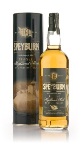Speyburn 10 Year Old (100cl) Single Malt Scotch Whisky