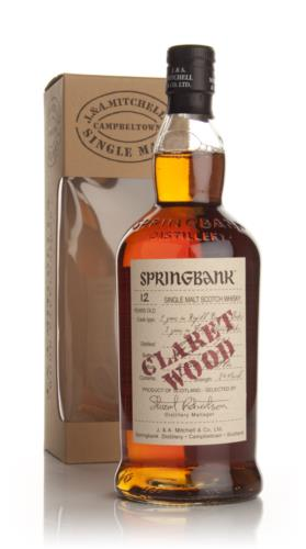 Springbank 12 Year Old (Claret Wood) Single Malt Scotch Whisky