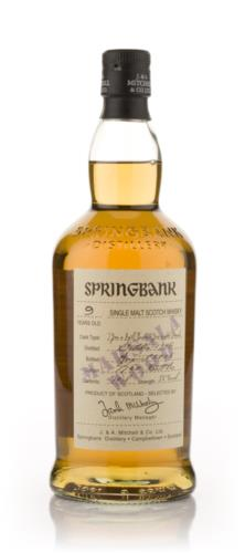 Springbank 9 Year Old (Marsala Wood) Single Malt Scotch Whisky