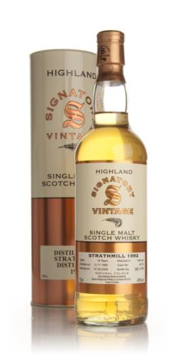 Strathmill 1992  16 Year Old  Signatory Single Malt Scotch Whisky