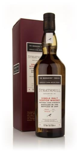 Strathmill 1996 Managers Choice Single Malt Scotch Whisky