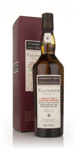 Talisker 1994 Managers Choice Single Malt Scotch Whisky