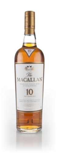 Macallan 10 Year Old Sherry Oak Single Malt Scotch Whisky
