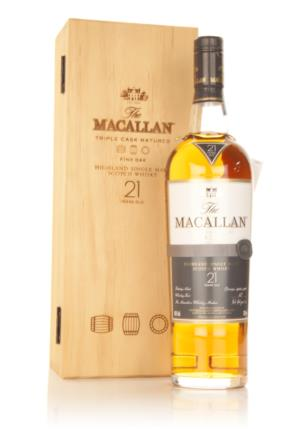 Macallan 21 Year Old Fine Oak Single Malt Scotch Whisky
