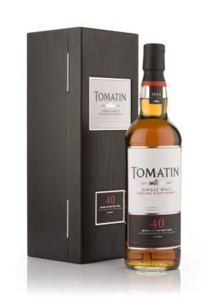 Tomatin 40 Year Old Single Malt Scotch Whisky