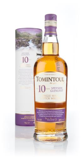 Tomintoul 10 Year Old Single Malt Scotch Whisky
