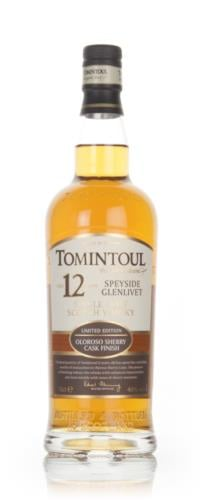 Tomintoul 12 Year Old Sherry Cask Single Malt Scotch Whisky