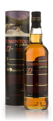 Tomintoul 27 Year Old Single Malt Scotch Whisky