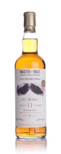 Whisky 4 Movember No 4. The Walrus